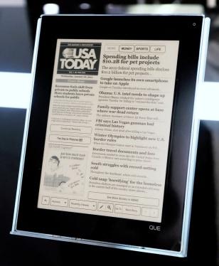 Image: Plastic Logic Que e-reader