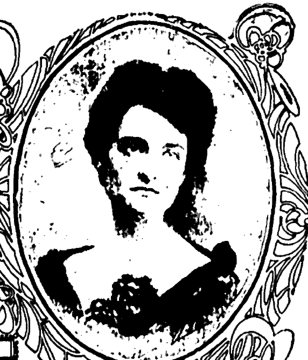 Drawing of Anna Clark