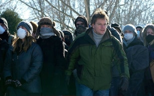 "IMAGE: Matt Damon in ""Contagion"""