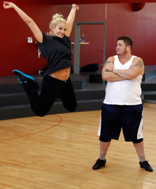 IMAGE: Lacey Schwimmer, Chaz Bono