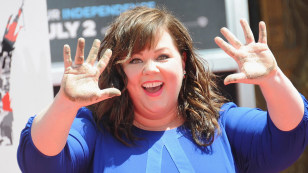 Image: Melissa McCarthy Immortalized With Hand And Footprint Ceremony
