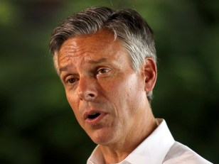 Image: Republican Presidential Hopeful Jon Huntsman