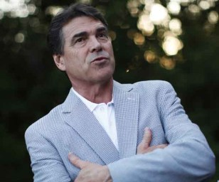 Image: U.S. Republican presidential candidate Texas Governor Rick Perry