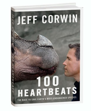 "Jeff Corwin's book, ""100 Heartbeats"""