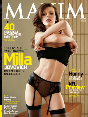 Image: Cover of Maxim Magazine
