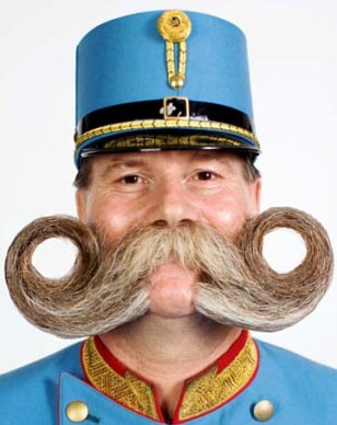 Image: The World Beard and Moustache Championships (various locales)