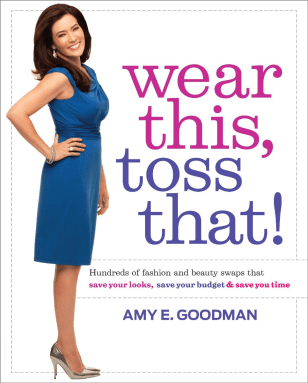 "Image: ""Wear This, Toss That!"" book cover"