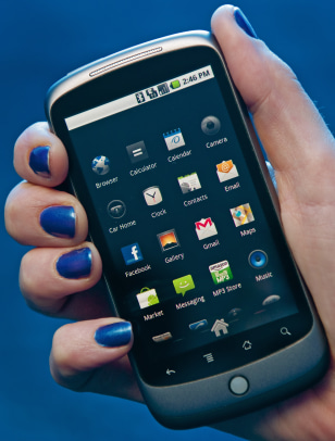 Image: Google Nexus One phone