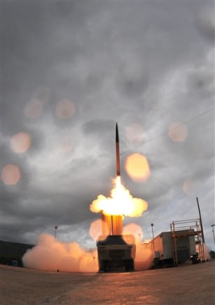 MISSILE DEFENSE TEST