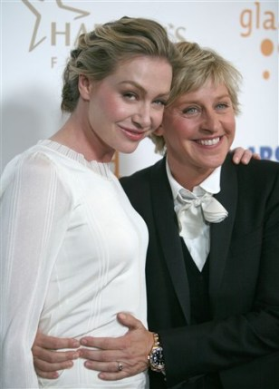 Image:Ellen DeGeneres, Portia de Rossi