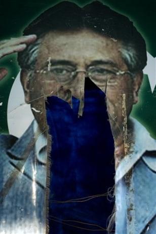 Image: Pervez Musharraf poster