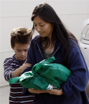 Image: Mayumi Heene with her oldest son Bradford