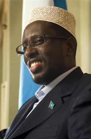 Image: Somali President Sheik Sharif Sheik Ahmed