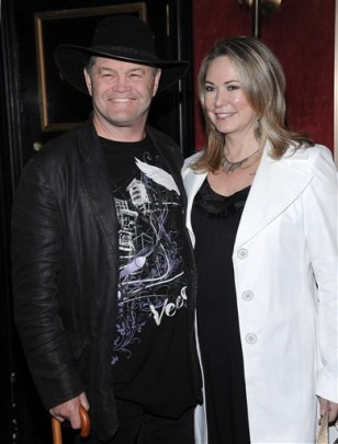 Image: Micky Dolenz and Donna Quinter