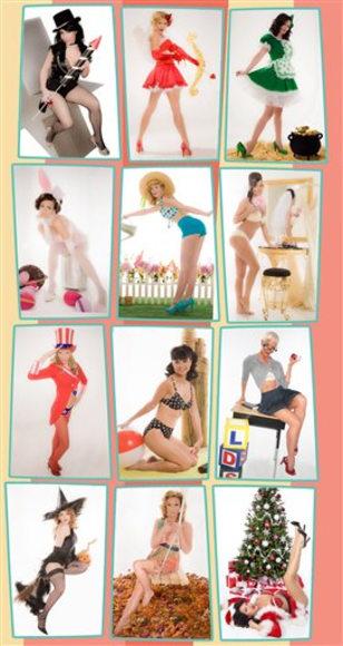 Image: Calendar models