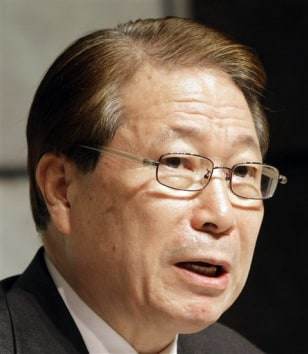 Image: South Korean Foreign Minister Yu Myung-hwan