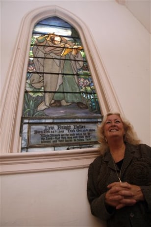 Image: Tiffany window at church