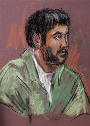 IMAGE: DRAWING OF SERDAR TATAR