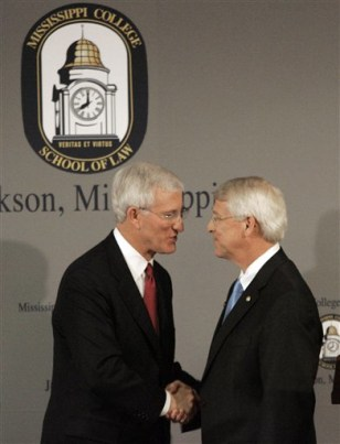 Image: Ronnie Musgrove and Roger Wicker