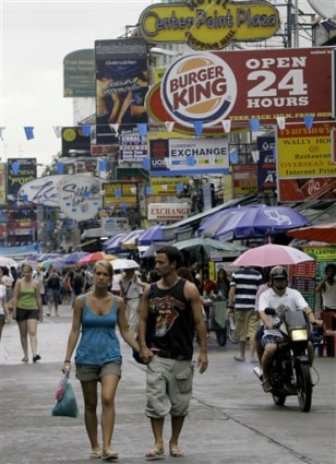 Thailand Tourism Blues