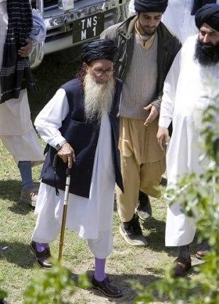 Image: Pakistan's pro-Taliban cleric Sufi Muhammad