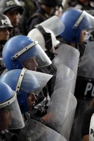 Image: Honduras coup