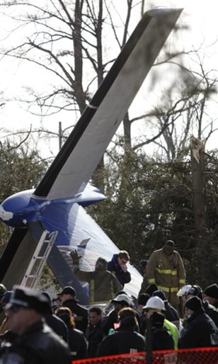 Image: Plane crash site