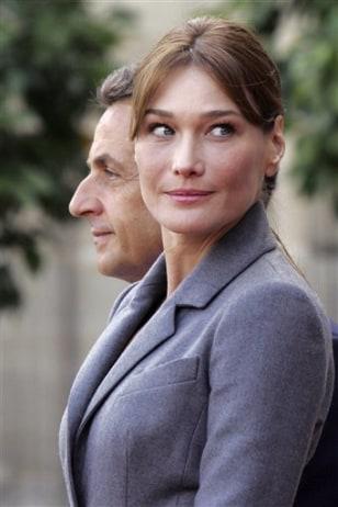Image: Nicolas Sarkozy, Carla Bruni-Sarkozy