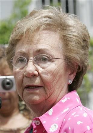 Image: Fidel Castro's sister Juanita