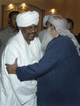 Image: Sudan's President Oman al-Bashir