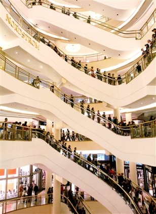 Image: Westfield shopping center