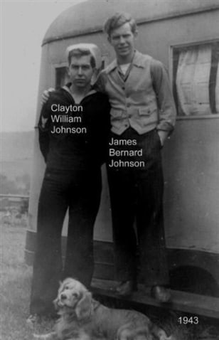 Image: Clayton William Johnson and James Bernard Johnson