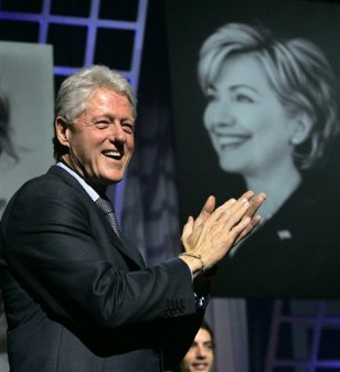 APTOPIX Clinton Birthday Bash