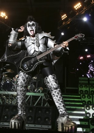 Image: Gene Simmons of Kiss