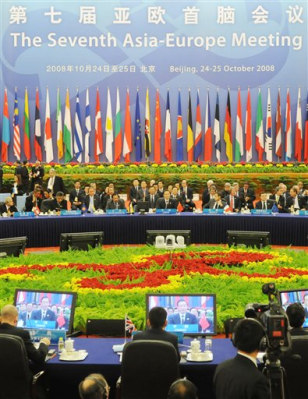 Image: Delegates at 7th Asia-Europe Meeting