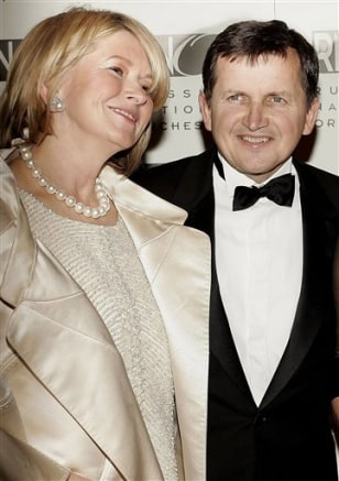 Image: Martha Stewart and Charles Simonyi
