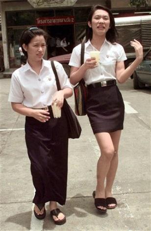 Image: Thailand teen transvestite