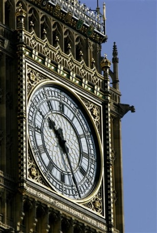 APTOPIX Britain Big Ben