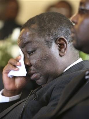 Image: Zimbabwe's prime minister Morgan Tsvangirai