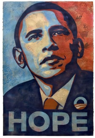 Image: Barack Obama portrait