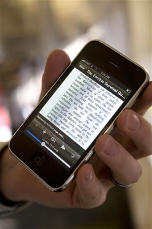 Image: Amazon's Kindle for iPhone book reader