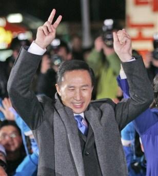 Image: President-elect Lee Myung-bak