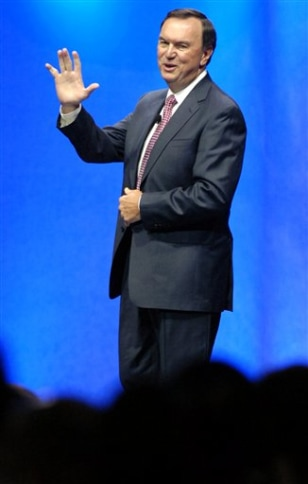 Image: Wal-Mart President and CEO Mike Duke
