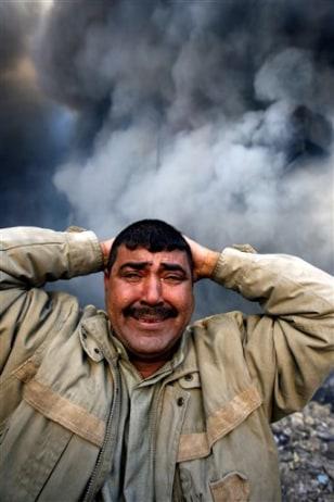 Image: Anguished Iraqi