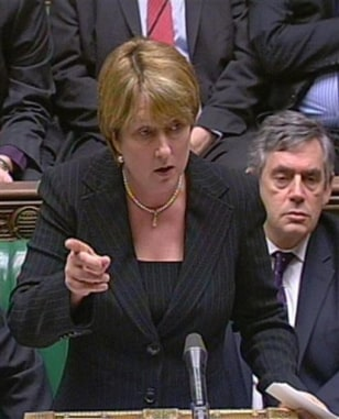 Image: Britain's Home Secretary Jacqui Smith