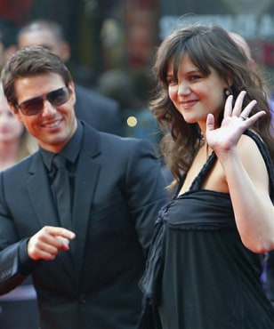 IMAGE: TOM CRUISE & KATIE HOLMES