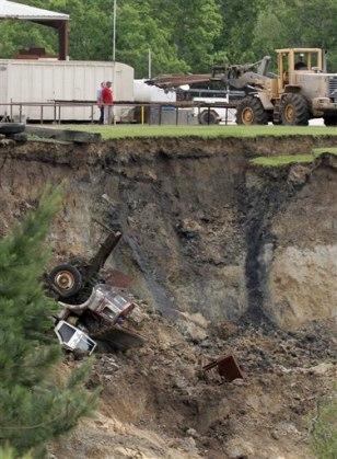 Image: Texas sinkhole