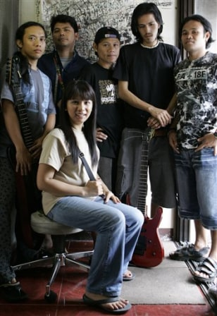 Image: Sarah Balabagan and band