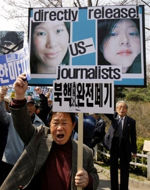 Image: South Korea protesters
