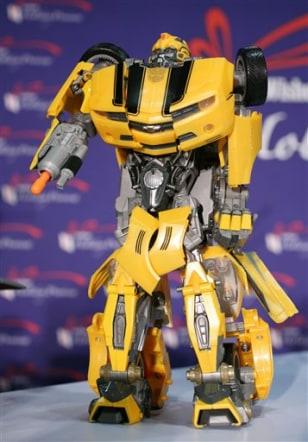Image: Hasbro's Transformer